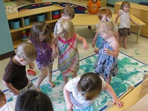 Dance Painting Reduces Stress And Eases Anxiety In Preschoolers