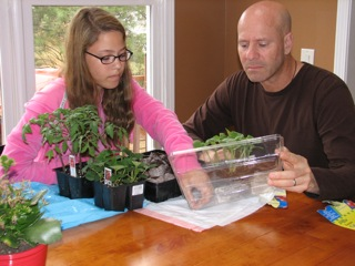 STRESS BUSTER: Dirt, Seeds, Gardening With Kids!