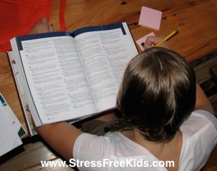 reducing homework stress