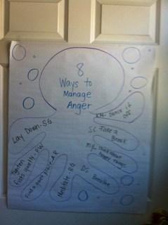 From Ocean Floor to Classroom Door: Anger Management in the Class