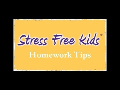 Reduce Homework Stress