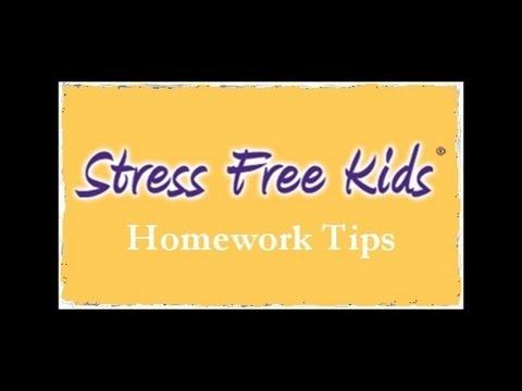Reduce Homework Stress