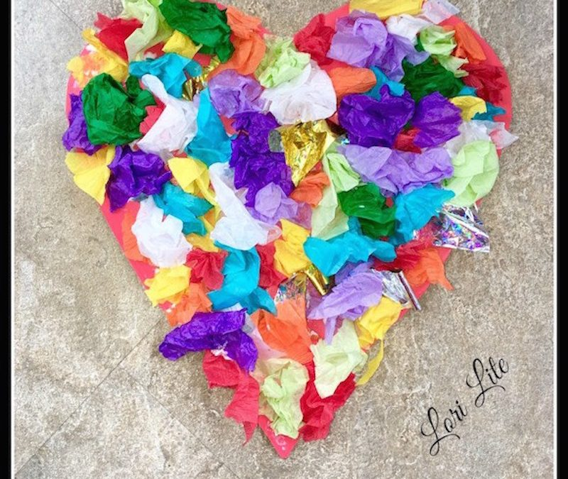 Arts and Crafts Heart Project For Kids: Upcycle, Reuse, and Reduce Stress
