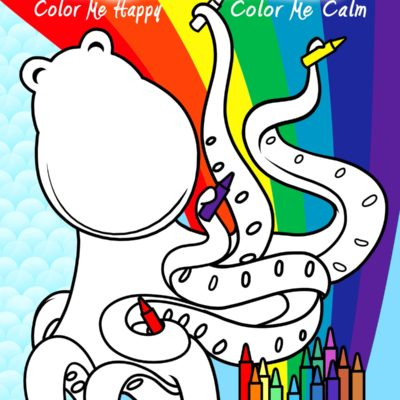 self-help coloring book