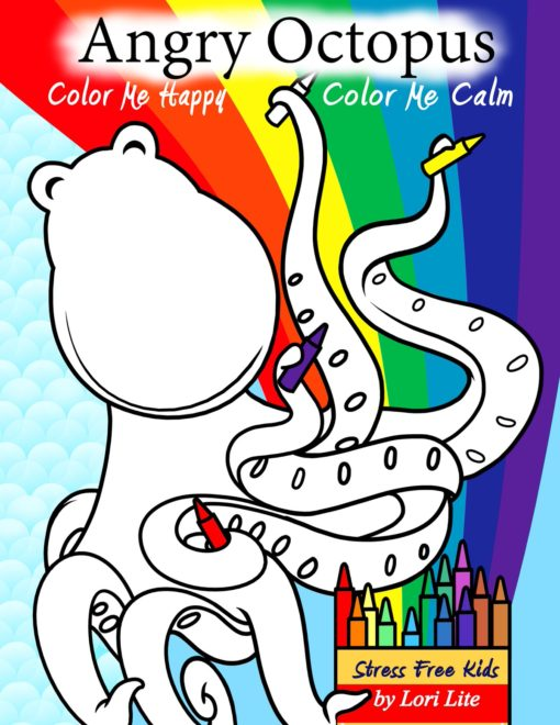 self-help coloring book