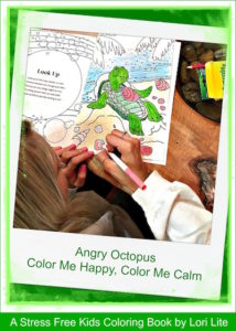 Kids Calm Down Coloring