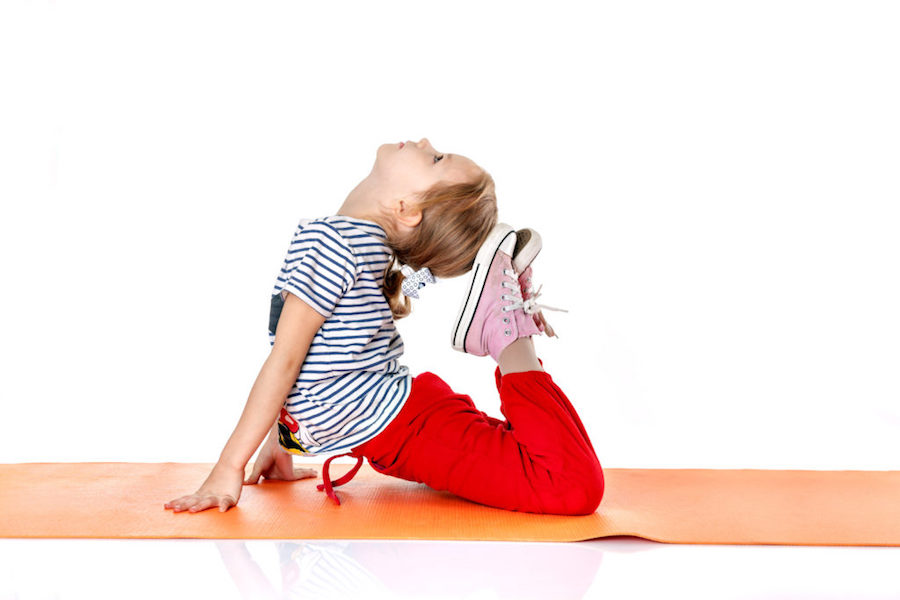 Introducing Your Child to Yoga Poses