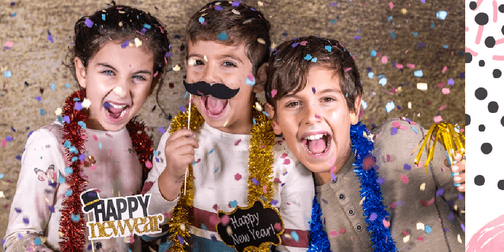 Celebrating New Year's with Kids